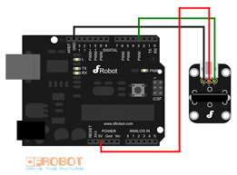 dfrobot digital vibration sensor sku dfr0027 robot wiki connection diagram