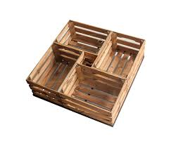 wooden crates glass table on wheels by noodles noodles noodles coffee tables