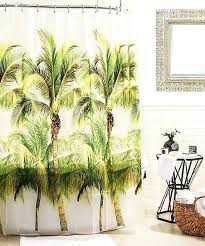 palm tree shower curtain green palm tree shower curtain palm tree shower curtains bath accessory sets