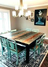 Colorful Dining Room Tables Impressive Design Inspiration