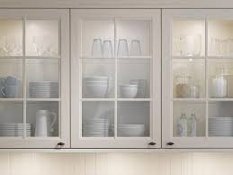 Glass Front Kitchen Cabinets Kitchen 47 Glass Front Kitchen Cabinets White Wooden Kitchen