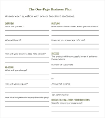 Business Plan Excel Template Free Download Business Planning Templates A Business Plan Template Free Download