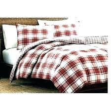 pottery barn bryce buffalo check duvet cover plaid twin covers red checd flannel