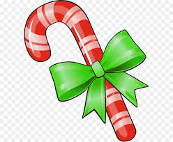 christmas lollipop clip art. Perfect Lollipop Candy Cane Lollipop Clip Art  Transparent Christmas Cane With Green  Bow PNG Clipart And Art R