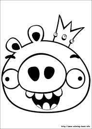 Small Picture Angry Bird Coloring Pages Print Angry Birds Coloring Pagesjpg