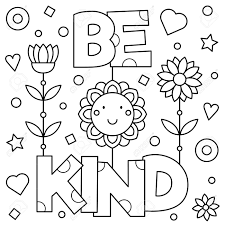 Mother teach her kid how to washing hand coloring pages. Be Kind Coloring Pages Coloring Home