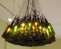 wine bottle lighting. wine bottle chandelier amantivinolightfixture lighting e