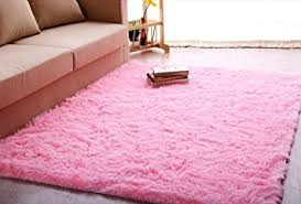Igirls Shaggy Daughters Roomultra Soft Area Rugs Living Room Carpet  Bedroom Rug Princess Girls