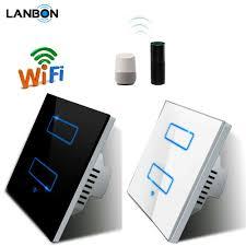 Apple Homekit Wifi Light Switch Lanbon Apple Homekit Iot Smart Lighting Touch Panel