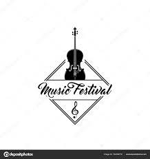 Treble Clef Music Violin Treble Clef Music Festival Logo Emblem Label Musical