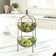 2 tier basket stand artichoke 2 tier stand designs surpahs 2 tier countertop fruit basket stand