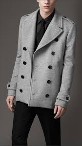 burberry wool cashmere cropped pea coat 38203661 001 iluxdb