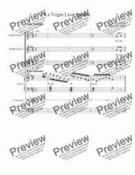 Free sheet music 148 000+ free sheet music. La Virgin Lava Panales Download Sheet Music Pdf File