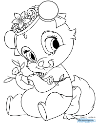 Small Picture Palace Pets Coloring Pages 3 Disney Coloring Book