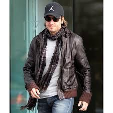 biker style keith urban brown leather jacket