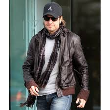 biker style keith urban brown leather jacket