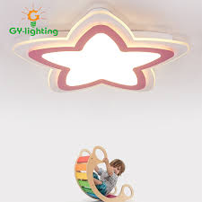 lighting for girls room. cartoon star child room lights modern living bedroom teenager girls ceiling lamps baby lighting for