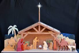 3d holiday nativity in wood scrollsaw woodworking plan