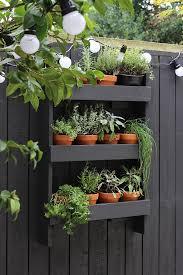 diy vertical herb garden growing spaces more