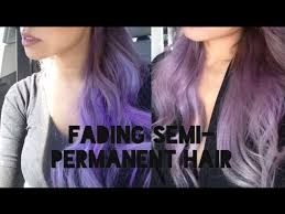 how to fade semi permanent hair dye