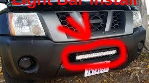 2012 Nissan Frontier Light Bar Light Bar Install On A Nissan Xterra Project X Pt 1