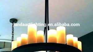 eye catching pillar candle chandeliers on round chandelier in plans non electric