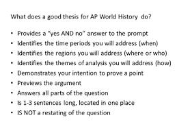Ap Ccot Essay Rubric