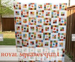 Scrap Quilt Patterns Adorable Fast And EAsy Scrap Quilt Royal Squares Quilt Pattern Quilt Show
