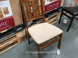 wood folding chairs costco. Fine Chairs Get More Seating In Your Home For Parties And Gatherings With The Stakmore Wood  Folding Chair For Chairs Costco W