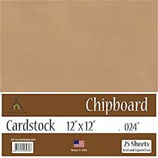 Chipboard Thickness Chart