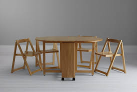john lewis erfly folding dining table and four chairs collapsible dining table and chairs
