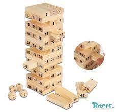 Đồ chơi nhóm rút gỗ Jenga số