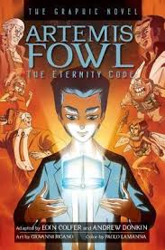 artemis fowl graphic novel book 3 the eternity code