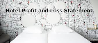 Profit And Loss Account Hotel Profit And Loss Statement Sample Hospitality Lodging P L