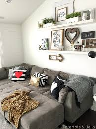 gallery wall with shelves 5 simple gallery wall ideas