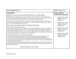 8th grade math curriculum map pdf