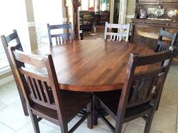 awesome mission style round dining table also and kitchen tables 2017 inspirations