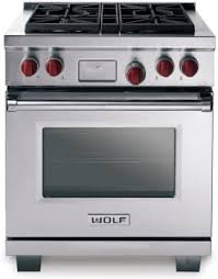 wolf 30 dual fuel range. Exellent Fuel Wolf DF304  Stainless Steel With Red Knobs For 30 Dual Fuel Range AJ Madison