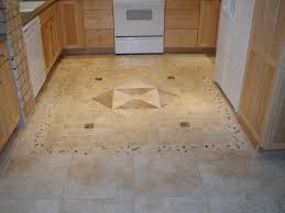 Kitchen Floor Tile Paint Pictures Of Tiled Kitchen Floors With Cabinetry Also Island And