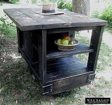Rustic Kitchen Island Cart Distressed Kitchen Island Cart Cliff Kitchen