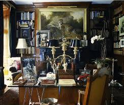 ralph lauren home office. will an all blue and white home look weird ralph lauren office