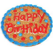 Happy Birthday Cookie Cake By Gourmetgiftbasketscom