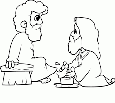 Small Picture Awesome Jesus Washes The Disciples Feet Coloring Page Photos New