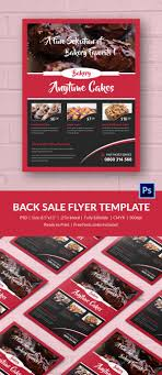 bake flyer psd indesign ai format customizable bake flyer