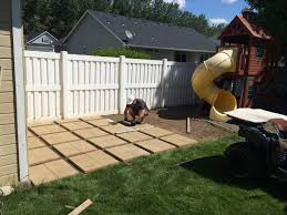 small backyard landscaping ideas on a budget inspirational build your own patio 12square pavers