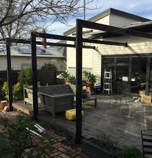 Open Pergola Structure - Steel