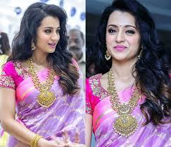 makeup ideas for pink sarees