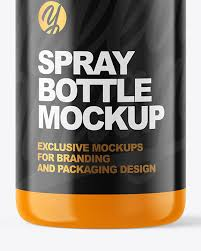 You must register before you can view this text. Glossy Spray Bottle Mockup In Bottle Mockups On Yellow Images Object Mockups