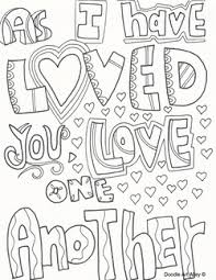 Small Picture Bold And Modern Love One Another Coloring Page Coloring Pages