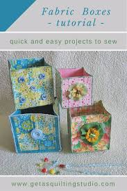 37 Quilted Gift Ideas You Can Make For Just About Anyone - Page 2 ... & Best Quilting Projects for DIY Gifts - Fabric Boxes - Things You Can Quilt  and Sew Adamdwight.com
